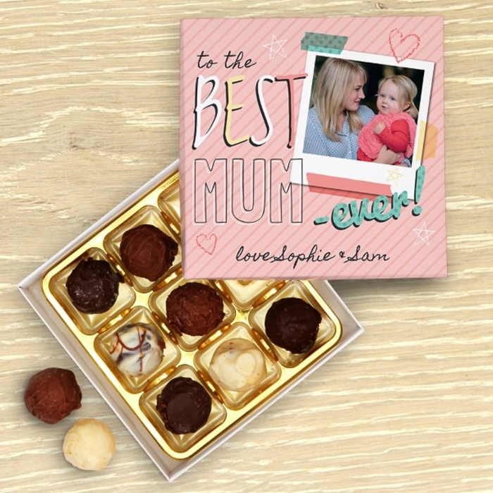 Picture of Best Mum Ever Personalised Chocolate Box