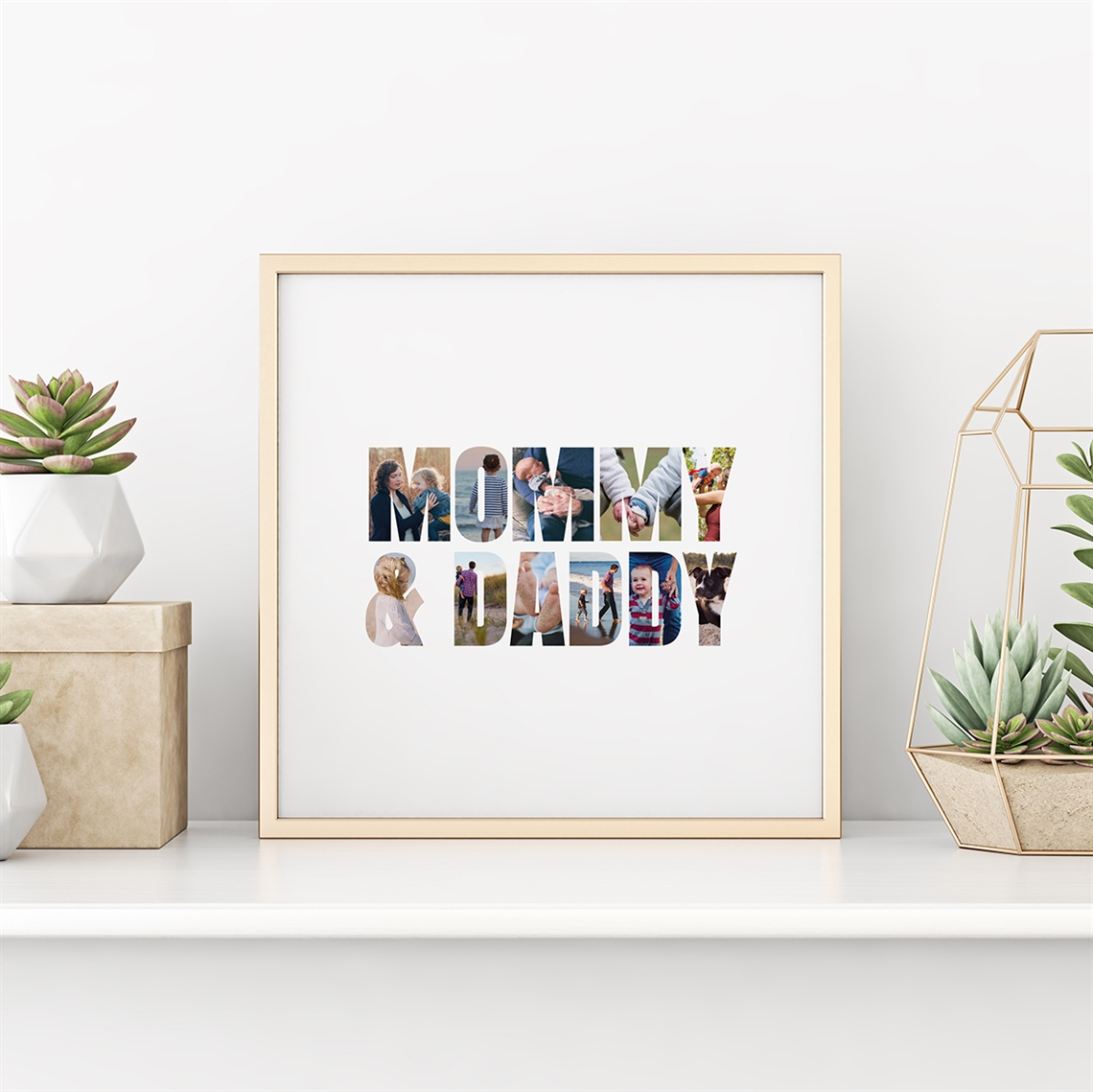 Picture of Mommy & Daddy Personalized Poster