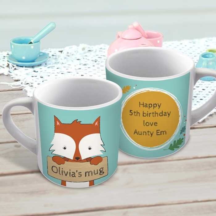 Picture of Cute fox personalised mug