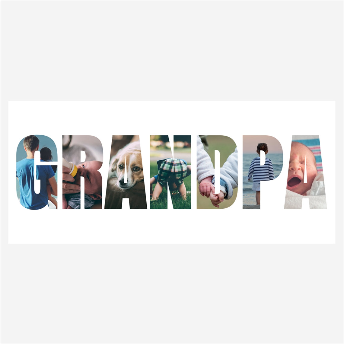 Picture of Grandpa Photo Personalized Mug