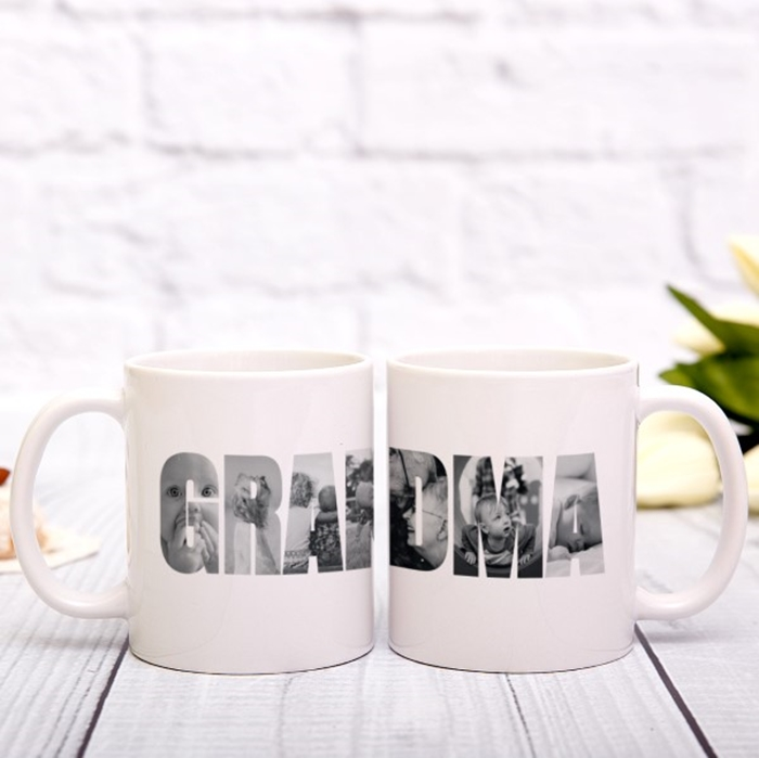 Picture of Grandma Photo Personalized Mug