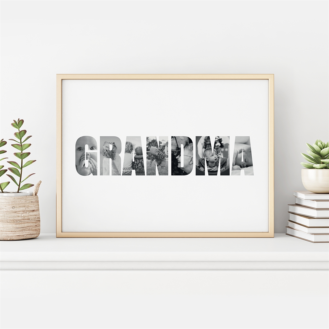 Picture of Grandma Photo Personalized Poster
