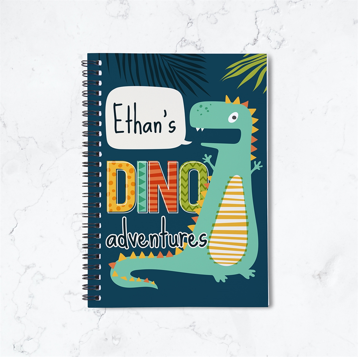 Picture of Dino Adventures Spiral Notebook