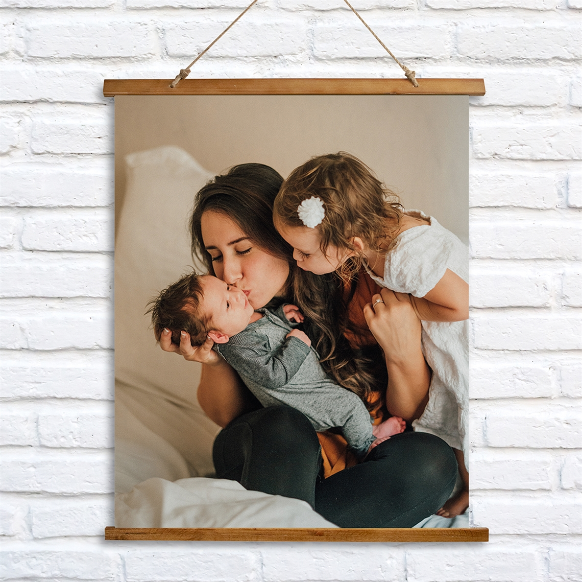 Picture of Create Your Own Vertical Wooden Wall Tapestry