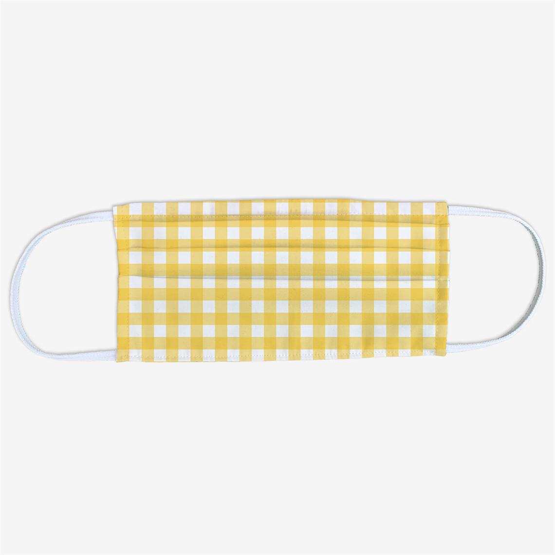 Picture of Yellow Gingham Face Mask