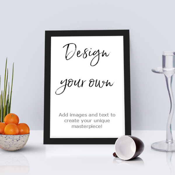 Picture of A4 Design your own personalised poster