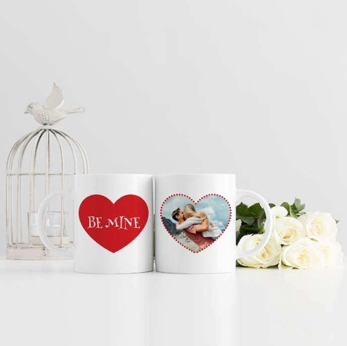 Picture of Be Mine romantic Personalised Mug