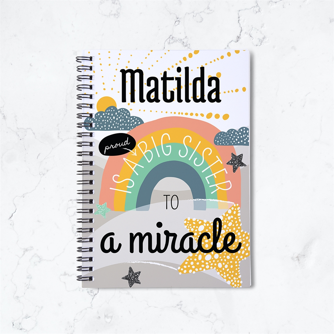 Picture of Proud Big Sister Spiral Notebook