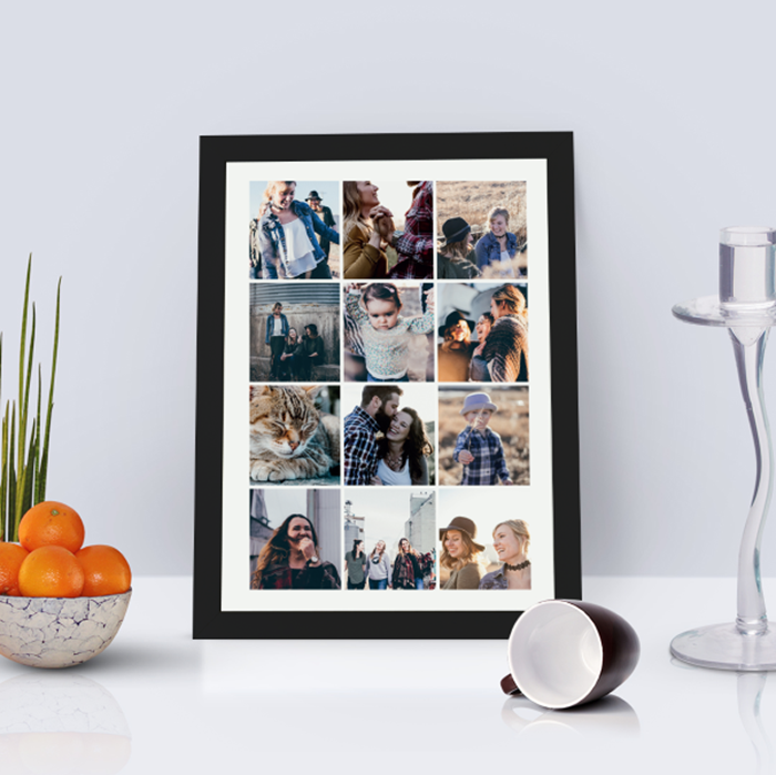 Picture of A4 Instagram-style photo personalised poster