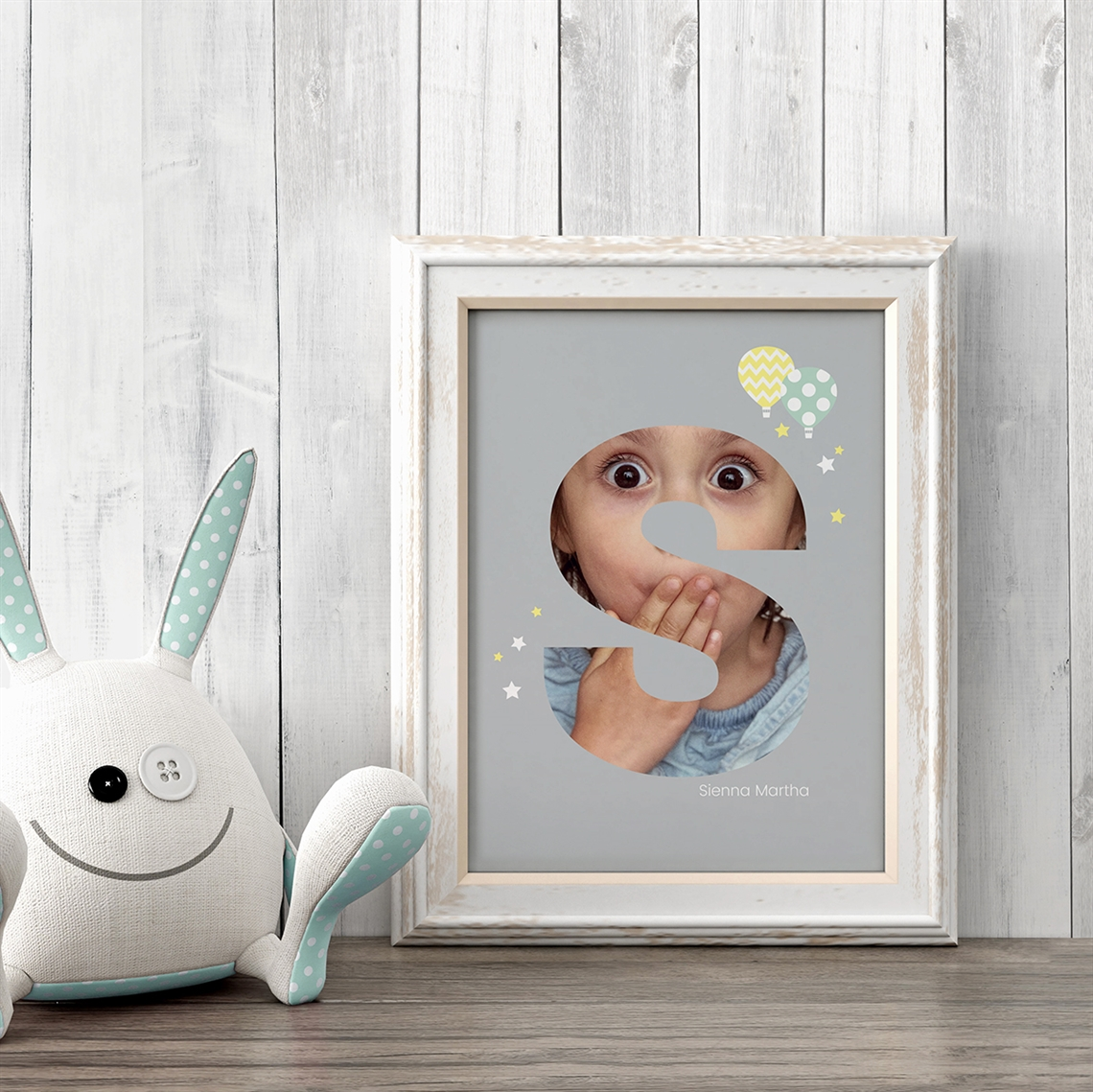 Picture of Baby & Kids Letter S Poster