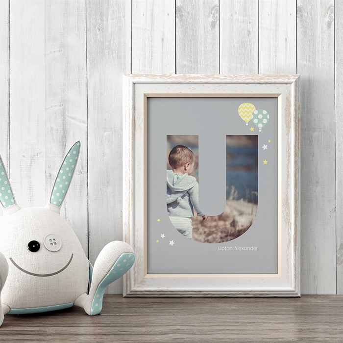 Picture of Baby & Kids Letter U Poster