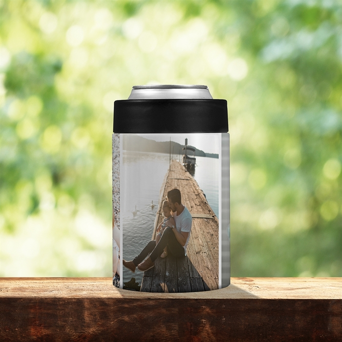 Picture of 3 Photo Stainless Steel Koozie