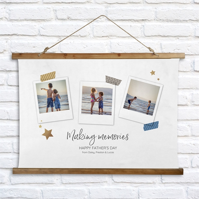 Picture of Making Memories Wooden Wall Tapestry