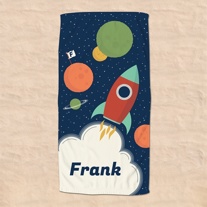 Picture of 3-2-1 Blast Off Beach Towel