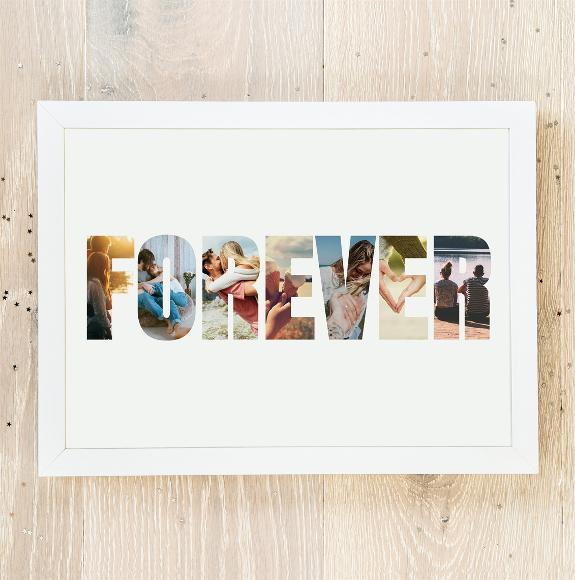Picture of A4 Forever Photos personalised poster