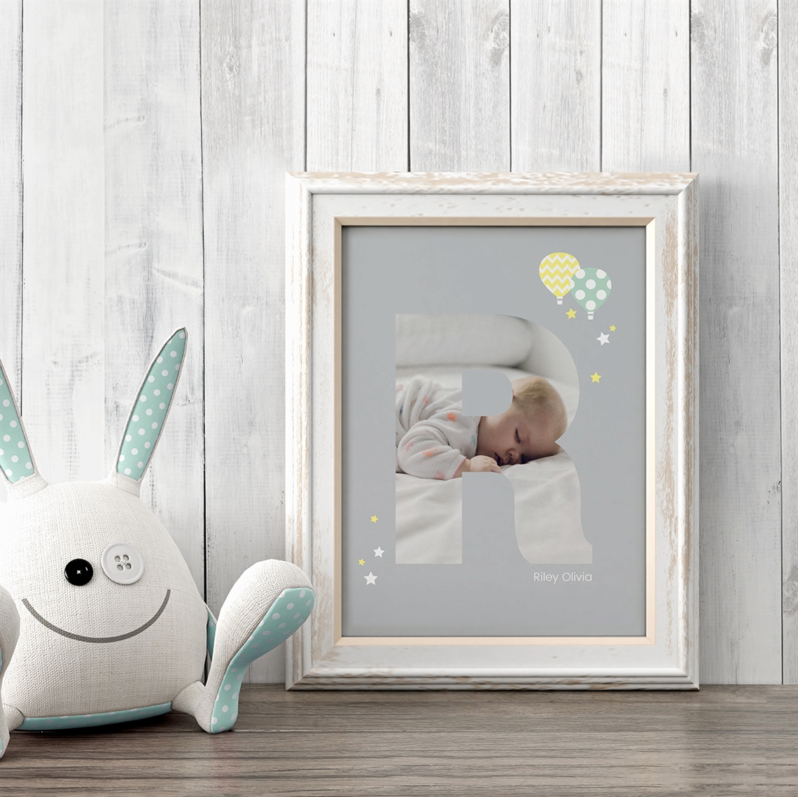 Picture of Baby & Kids Letter R Poster
