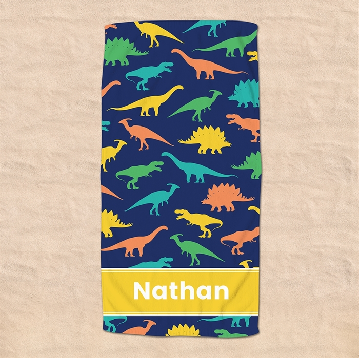Picture of Dinosaur Beach Towel